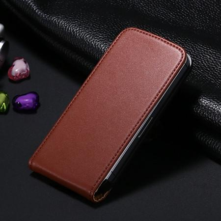 Case Cover for iPhone genuine leather Vertical 4S 4 4G Ultra Slim 4S-GKandaa.net