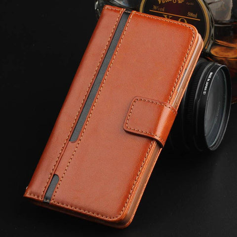 Case Cover for iPhone Vintage Luxury 6 6s Leather Flip 6 Plus Wallet-GKandaa.net