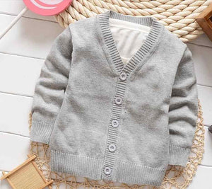 Boys Sweaters jacket: 100% good quality single-breasted outfit-GKandaa.net