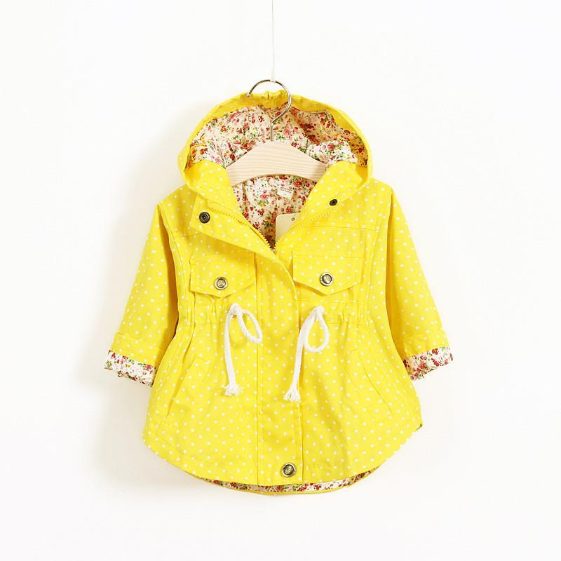 Girls Outerwear Coat Hoodies jackets Coat Spring-GKandaa.net