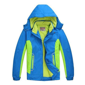 Girls Outerwear Coat Coat Sporty Double Waterproof jackets 6-14T-GKandaa.net