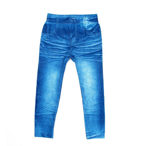 Girls Jeans, 5-8 64CM Blue Cow Digital pants - GKandaa.net