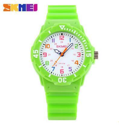 Kids' Watches Quartz Jelly students 7COLORS-GKandaa.net