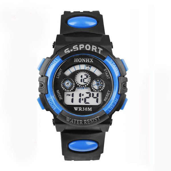 Kids' Watches Attractive Boy Digital LED Quartz Alarm Date Sports-GKandaa.net