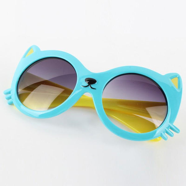 Children's sunglasses Cat Anti UV Eye Glasses-GKandaa.net