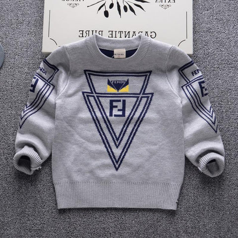 Boys Sweaters luxury double cotton casual-GKandaa.net