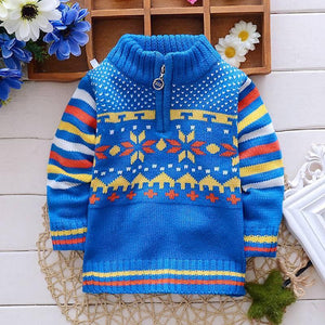 Boys Sweaters long sleeved Outwear-GKandaa.net