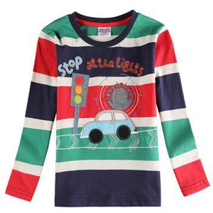 Boys Shirts Casual 100% cotton AC571-GKandaa.net