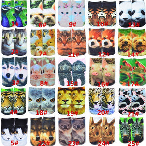 Boys Socks 3D Multiple Colors Cute cotton-GKandaa.net