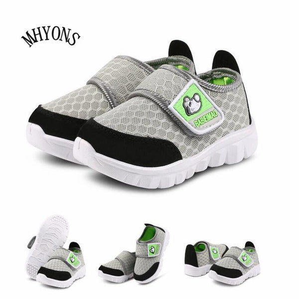 Girls Outdoors Shoes Summer mesh sport soft bottom sneakers S1072-GKandaa.net