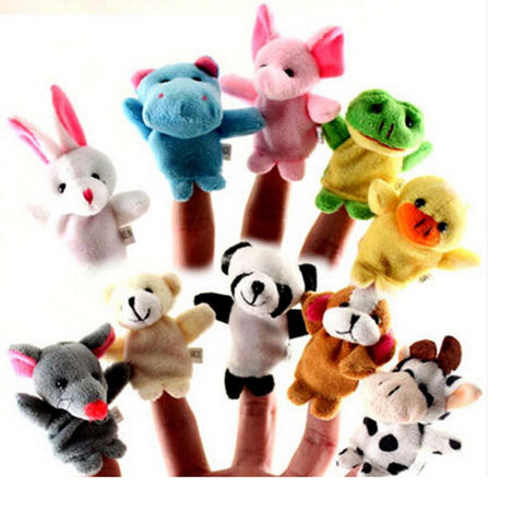 Children's puppet finger Doll 10 Units Happy Family Learning-GKandaa.net