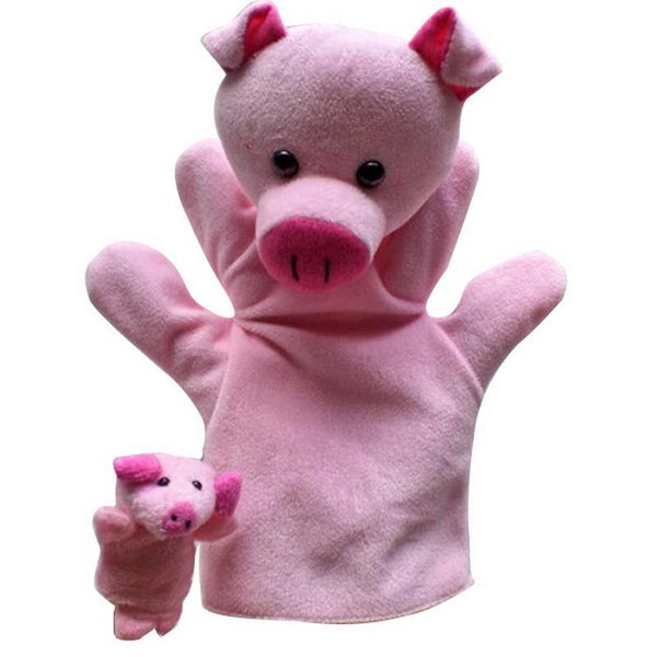 Children's puppet finger Doll 2 PC Learning Educational Gifts VBQ38-GKandaa.net