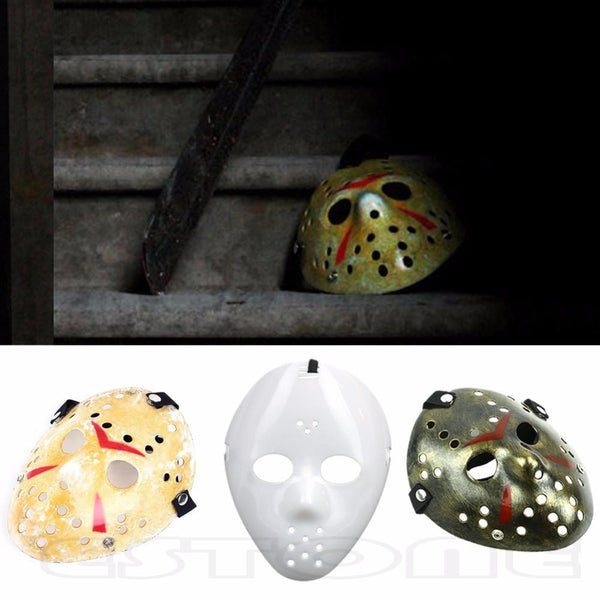Halloween Mask Jason Freddy vintage Hockey With Straps-GKandaa.net