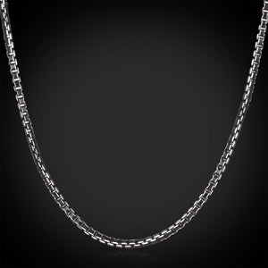 Men's Chain Necklace Stainless Steel  3MM 46CM / 55CM / 66CM vintage-GKandaa.net