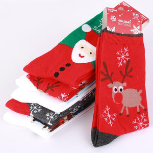 Women's Socks cotton Casual Christmas Socks Gift-GKandaa.net