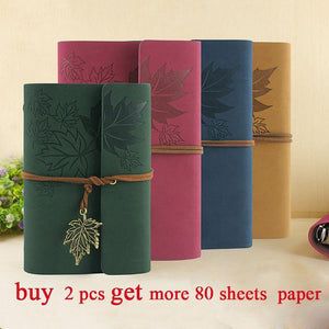 Vintage Notebook pu leather Leather Soft Copybook-GKandaa.net