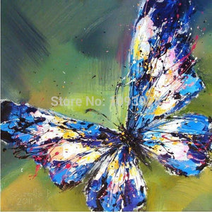 Art Oil Hand-painted picture 100% home-made Butterfly No Frame-GKandaa.net