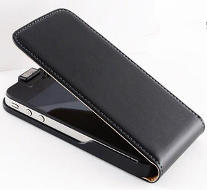 Case Cover for iPhone Retro Real genuine leather 4 4S 4G / 5 5S 5G-GKandaa.net