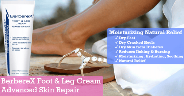 BerbereX Foot & Leg Cream Advanced Skin Repair 6.5 ozGKandaa.net