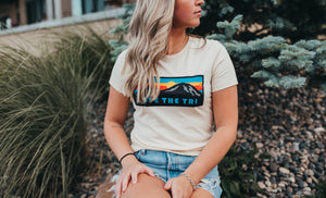 *New* Women's Sunset 2020 tee in cream
