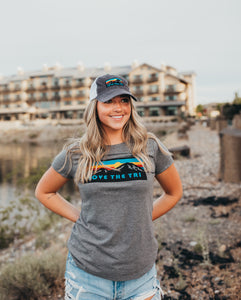 Women's Sunset 2020 tee in grey