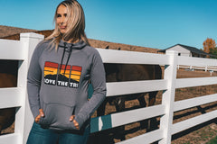 Women's Fall Sunset hoodie