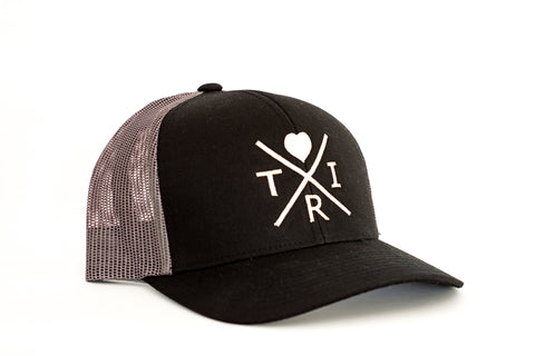 *NEW* Love Patch hat in gray & black(Snapback)