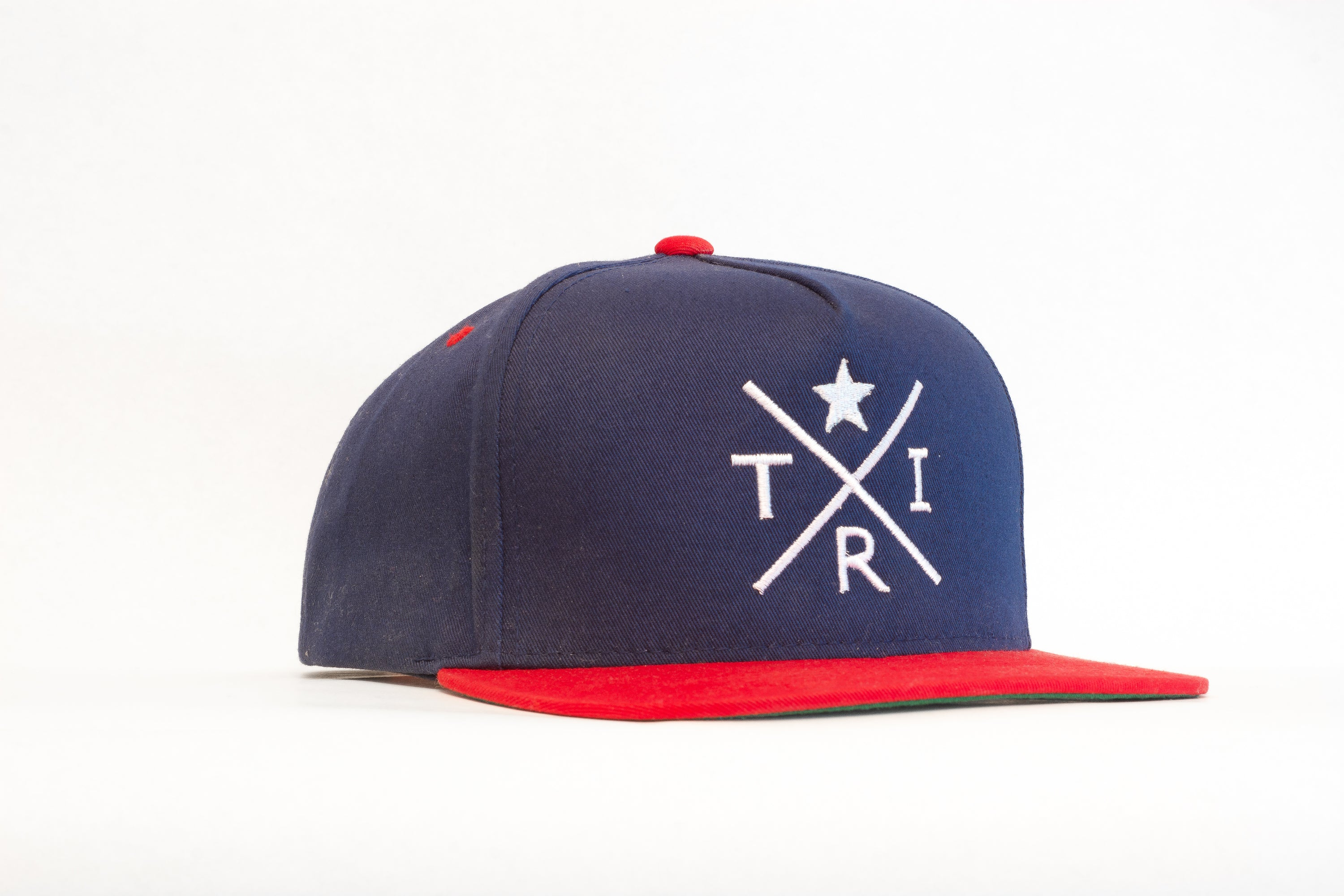 X Star Blue/Red flatbill(snapback)