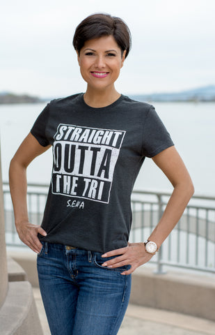 Women's Straight Outta The Tri Tee
