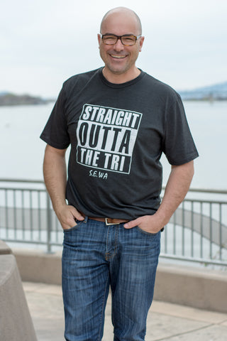 Men's Straight Outta The Tri Tee