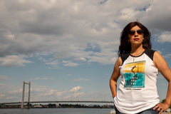 *New* Women's Surf The Columbia muscle tee