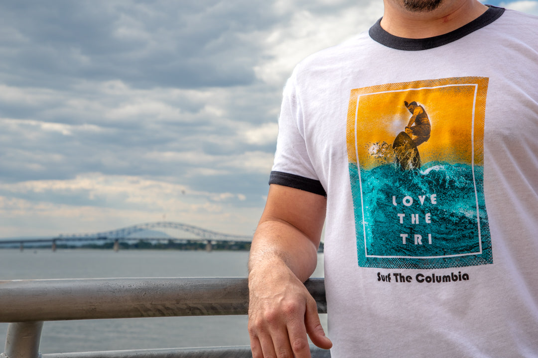 Men's Surf The Columbia tee