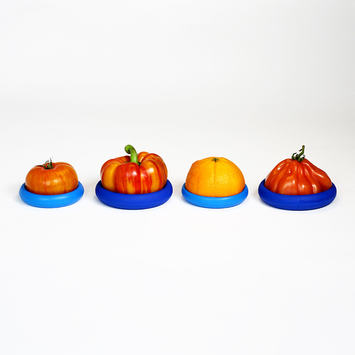 Reusable Silicone Can Toppers (Set of Four Lids)
