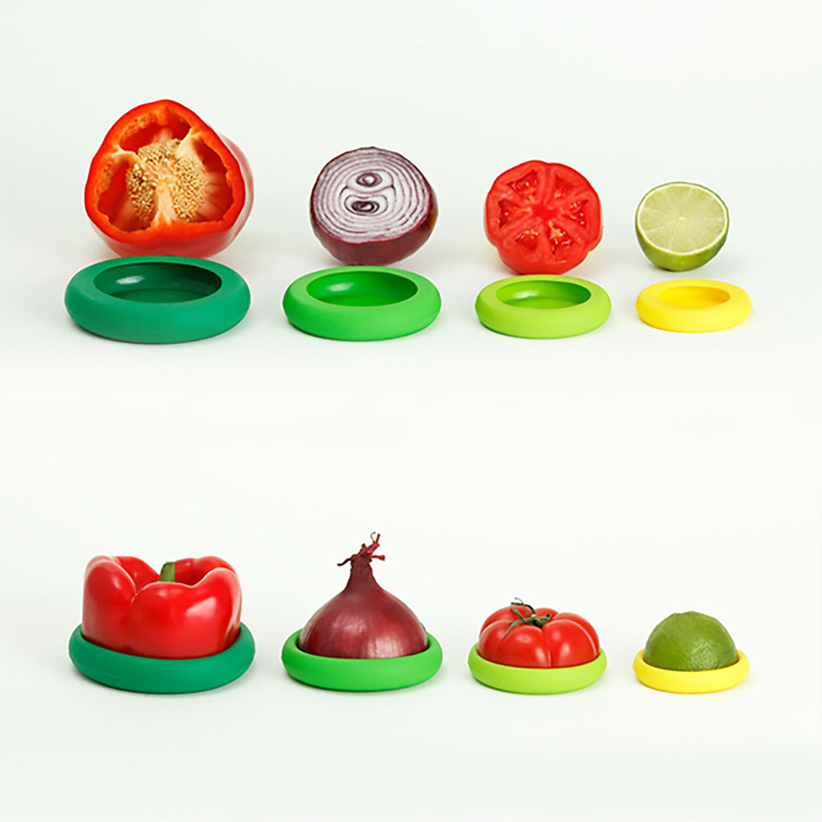 Set of Five Food Huggers® - Fresh Greens