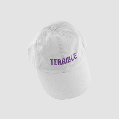 Logo Hat (Purple on White)