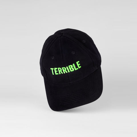 Logo Hat (Green on Black)