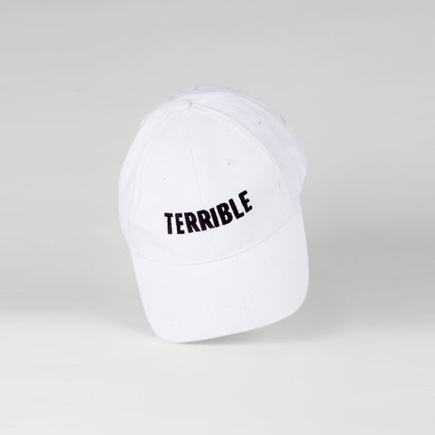 Logo Hat (Black on White)