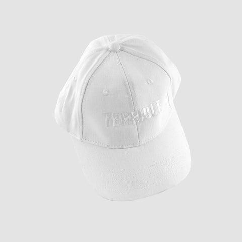 Logo Hat (White on White)