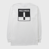 Terrible Records Pocket White Longsleeve