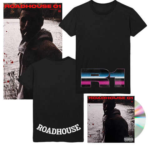 Roadhouse 01 CD + T-Shirt + Poster