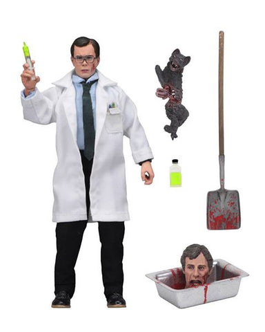"RE-ANIMATOR - 8"" CLOTHED ACTION FIGURE - HERBERT WEST"