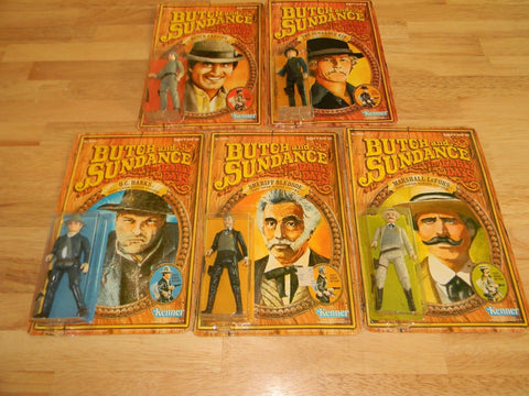 Butch and sundance kenner figfures