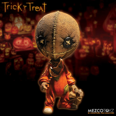 Trick R Treat Sam Stylized Figure mezco toysintheattic.co.uk