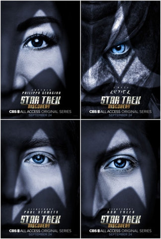 star trek discovery promotional poster