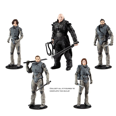 Dune BAF Mcfarlane Action Figure Series 1 Set of 4