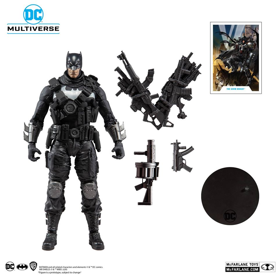 DC Multiverse The Grim Knight Batman - Dark Nights Metal (Batman who Laughs)