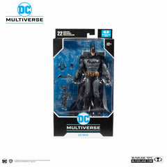 DC Multiverse Gaming Wave 1 Arkham Asylum Batman 7-Inch Action Figure (Pre-Order) - toysintheattic.co.uk