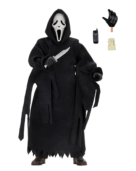 "Ghostface – 8"" Clothed Action Figure Neca Re-Release updated version (Pre-Order) - toysintheattic.co.uk"