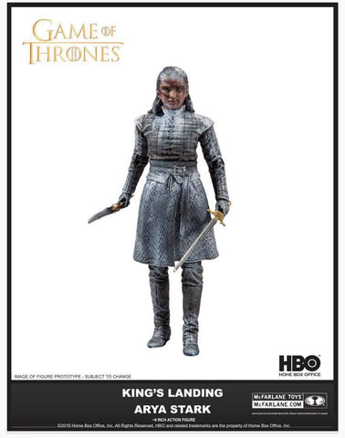 Game of Thrones Arya Stark Kings Landing Variant Mcfarlane Action Figure