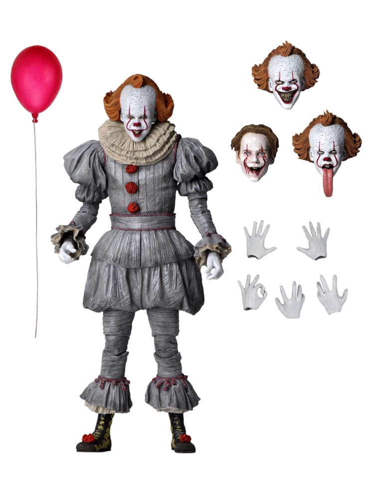 It Chapter 2 Pennywise Ultimate 7-Inch Scale Action Figure (Pre-Order) - toysintheattic.co.uk